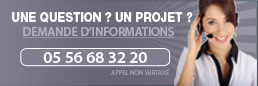 Lien vers page contact - accueil